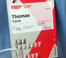 The courage to Tedx