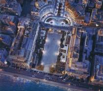 Πλατεία Αριστοτέλους και η Στοά Βαρώνου Χίρς